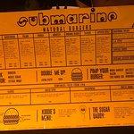 Фотография Submarine Burger Radnicka
