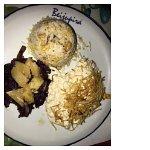 prato da época, uma especia de frango ao molho de requeijão, muito bom!!