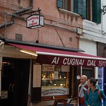 Great food, good value (for Venice), near Peggy Guggenheim exhibit (Art district)