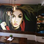 Beautiful decor, cosy atmosphere and tasty food