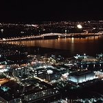 Auckland Harbour Bridge from the Observation Deck (Level 60)