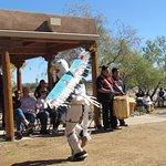 Eagle dance, Indian Pueblo Center, Albuquerque, NM