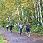 Photo de Guided Cycling Tour Biei