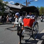 Expensive thrill: a rickshaw ride