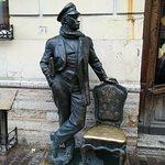 Городская скульптура Остап Бендер