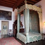 One of the antique bedrooms