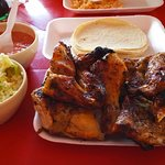 Foto de pollo bronco
