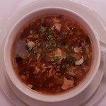 die feine Suppe zum Menü Szechuan
