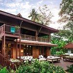 Ember restaurant outdoor area