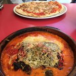 Pizza y lasaña