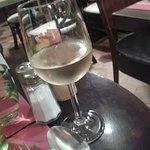 Un verre de Tariquet ... déjà bien entamé ...