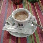 Le café et son petit sablé.