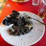 black risotto , delish
