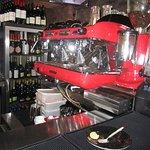 Sparkly coffee machine