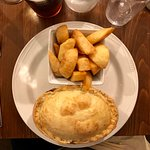 pie and 'chips'