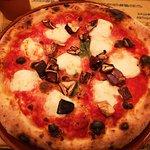 pizza Verace avec supplément aubergines confites