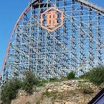 Iron Rattler on and out of the quarry