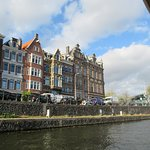 Old Amsterdam architecture.
