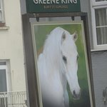White Horse across the road