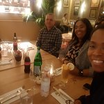 family evening out at Brera Cabot place