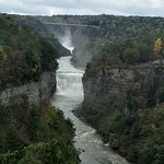 Letchworth State Park, upper and middle falls