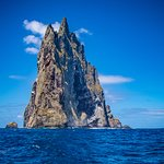 Ball's Pyramid 552m Tallest Sea Stack in the World