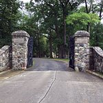 R. B. Hayes Home, old White House gates