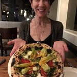 Squash Blossoms Pizza