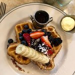 The Texas Pecan Waffle -- my personal FAVE