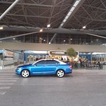 Taxi at Thessaloniki Airport - Waiting for the customer