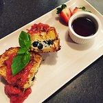 Blueberry Mascarpone French Toast
