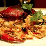 Mud Crab with Angel hair