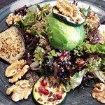 salad with quinoa