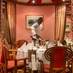 Captains Table: Guests seeking exclusivity are invited to dine at the Mandhari