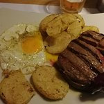 Steak e uovo
