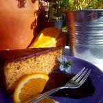 Libańskie ciasto pomrańczowe