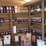 Vault of raw bottles at Buffalo Trace Distillery