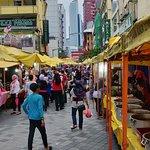 Jalan Masjid India Foto