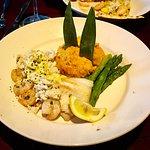 Tilapia and Shrimp Oscar