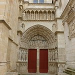 Royal door to cathedral