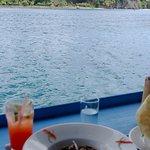 Harbor-side dining