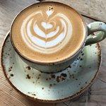 Coffee Jar latte art