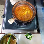 Spicy Fish Curry being prepared