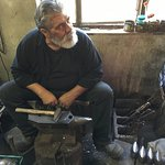 The last Bell Maker of Western Crete.