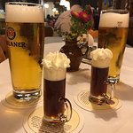 Bier Schnapps with Helles on tap