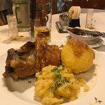 Schwein Haxen dinner