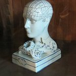 Apparently phrenology was a part of the curriculum when the Morrin Center was a college.