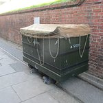 Example of wagon used on fort narrow gauge railway