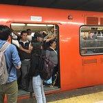 Cdmx City Metro Foto
