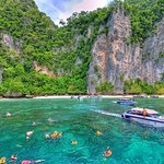 Full-Day Phi Phi and Khai Island Tour by Speedboat from Phuket